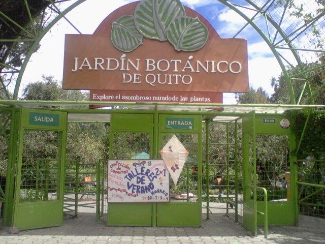 Una excursion al jard n bot nico de quito for Jardines verticales quito ecuador