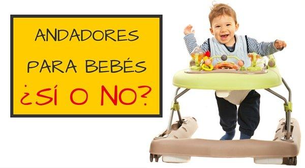 andadores para bebe