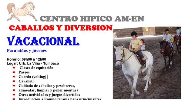 Cursos vacacionales en Quito