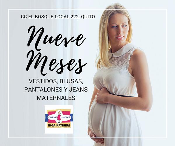 091ebd45e ROPA MATERNAL y toda ropa para embarazadas la encontraras en nuestro local  Nueve Meses en el Centro Comercial el Bosque en Quito.