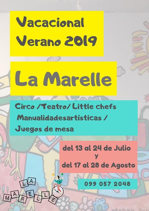 vacacional verano 2019