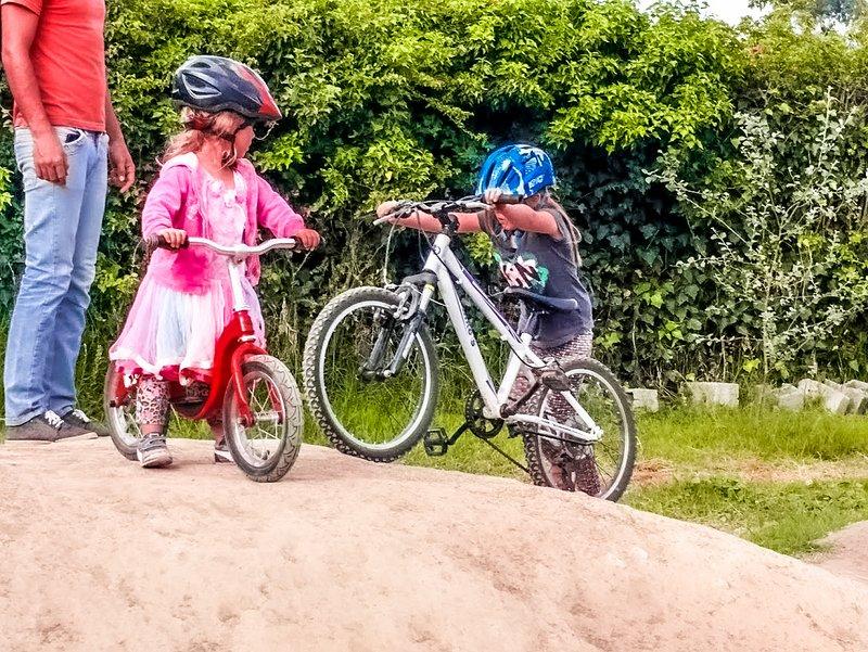 rutas bicis para niños